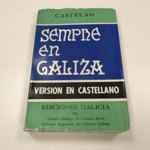 Castelao Sempre en Galiza Versión Castellano Portada