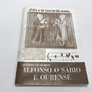 Alfonso o Sabio e Ourense - Alfredo Cid Rumbao. Portada