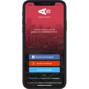 Abertos ao galego App